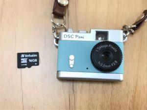 Toy CameraとSDカード